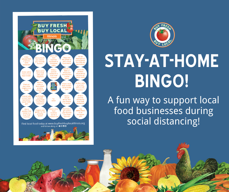 Support All The Local Businesses You Love With Stay-at-home Bingo
