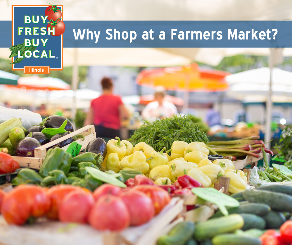 Why Shop At A Farmers Market?
