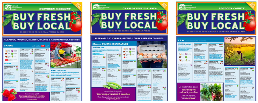 2019/2020 Buy Fresh Buy Local Print Guides!